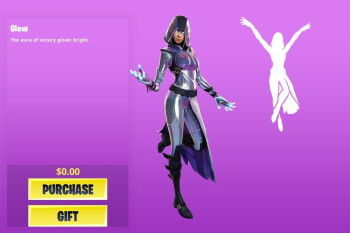 The Samsung Galaxy-exclusive Fortnite GLOW skin now available for download
