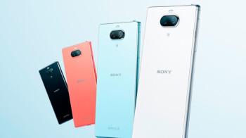 Meet Sony's new mid-range smartphone, the Xperia 8