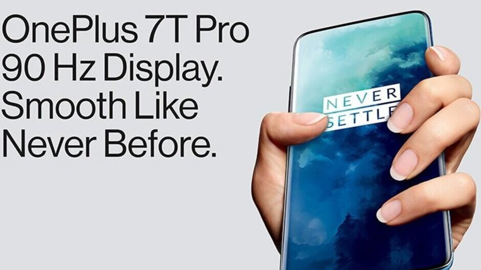 Leaked OnePlus 7T Pro poster teases 90Hz display and