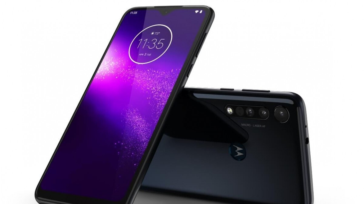 Budget Motorola One Macro arrives with triple-camera setup, notched display