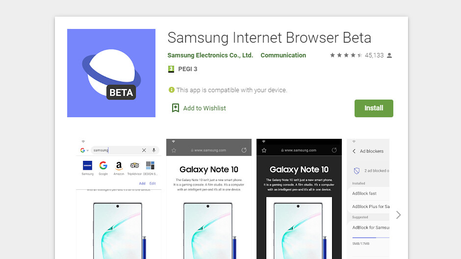 New features are coming to Samsung Internet browser
