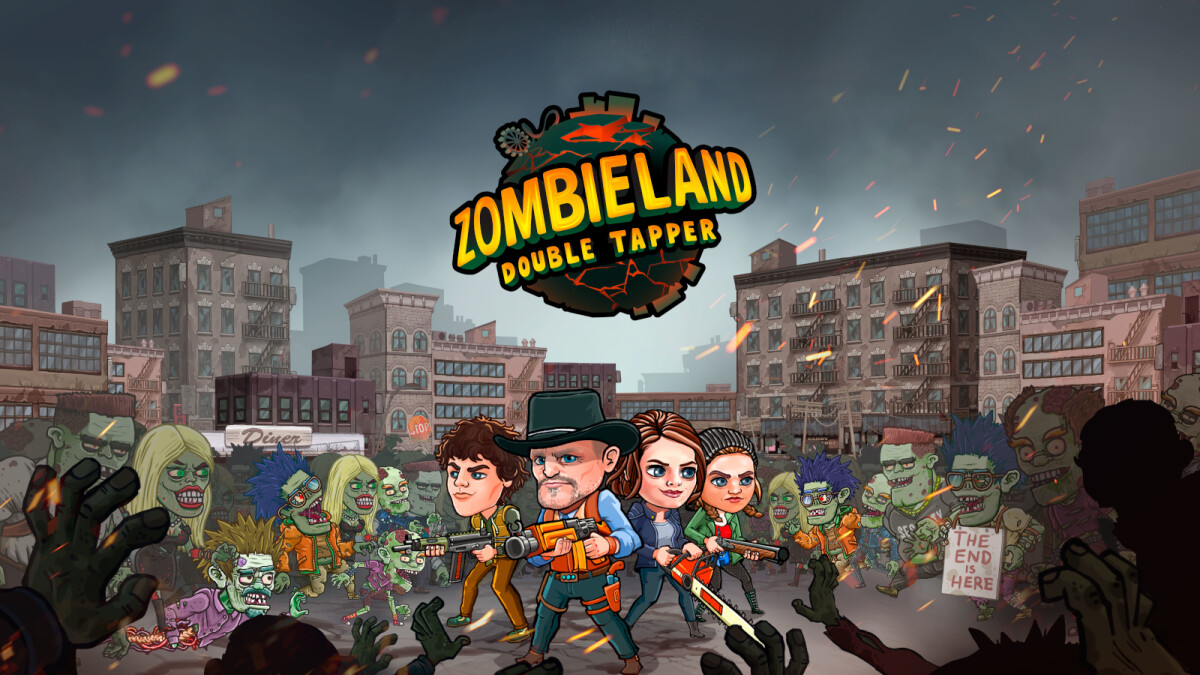 Take a trip across post-apocalyptic America in Zombieland: Double Tapper, out on Android and iOS