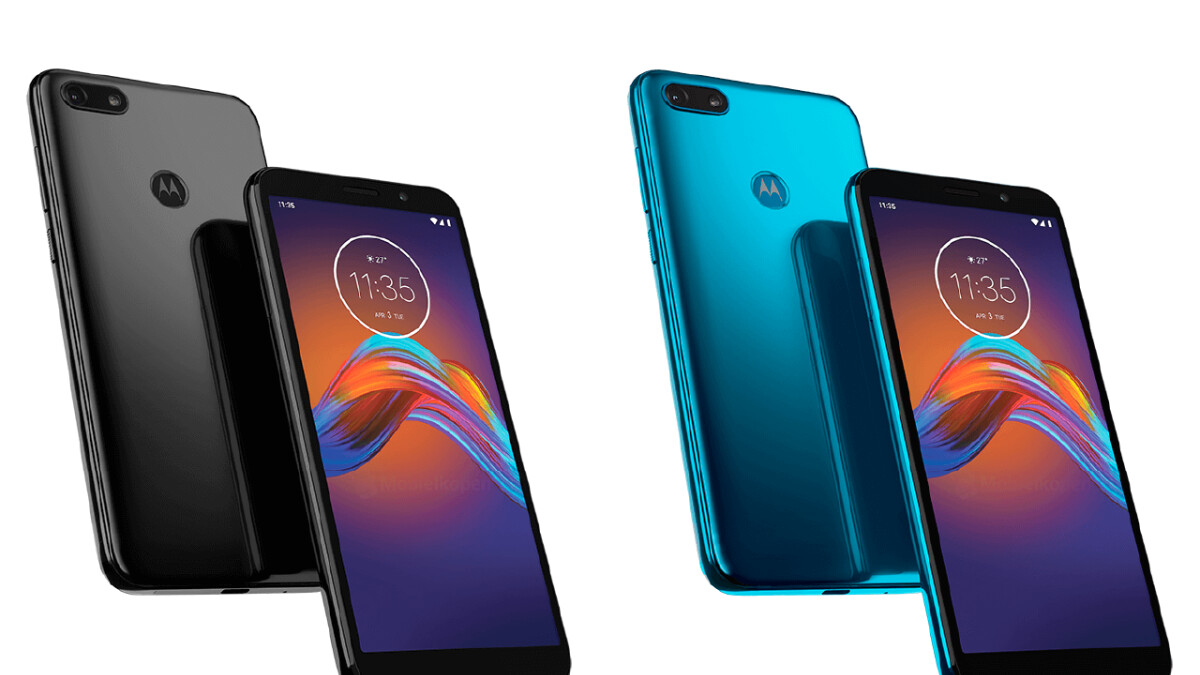 The Moto E6 Play leaks with tall display, single camera, and a fingerprint reader