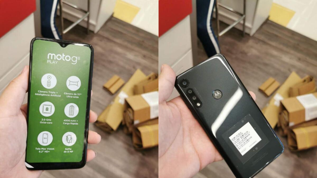 Leaked Moto G8 Play images surface alongside key specs
