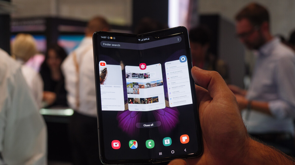 Samsung Galaxy Fold first major update adds many Note 10 features