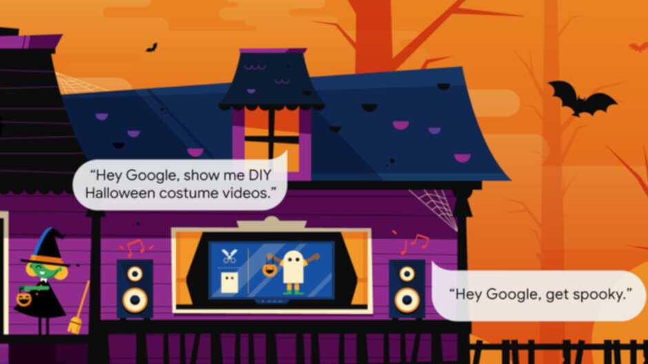 Google brings spooky ringtones and Halloween-themed commands to Nest products