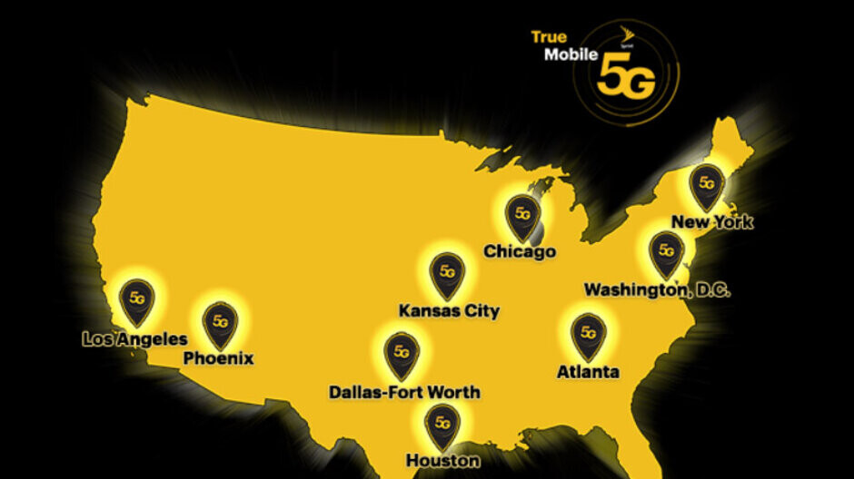 Sprint claims its 5G network now covers 16 million people across nine markets