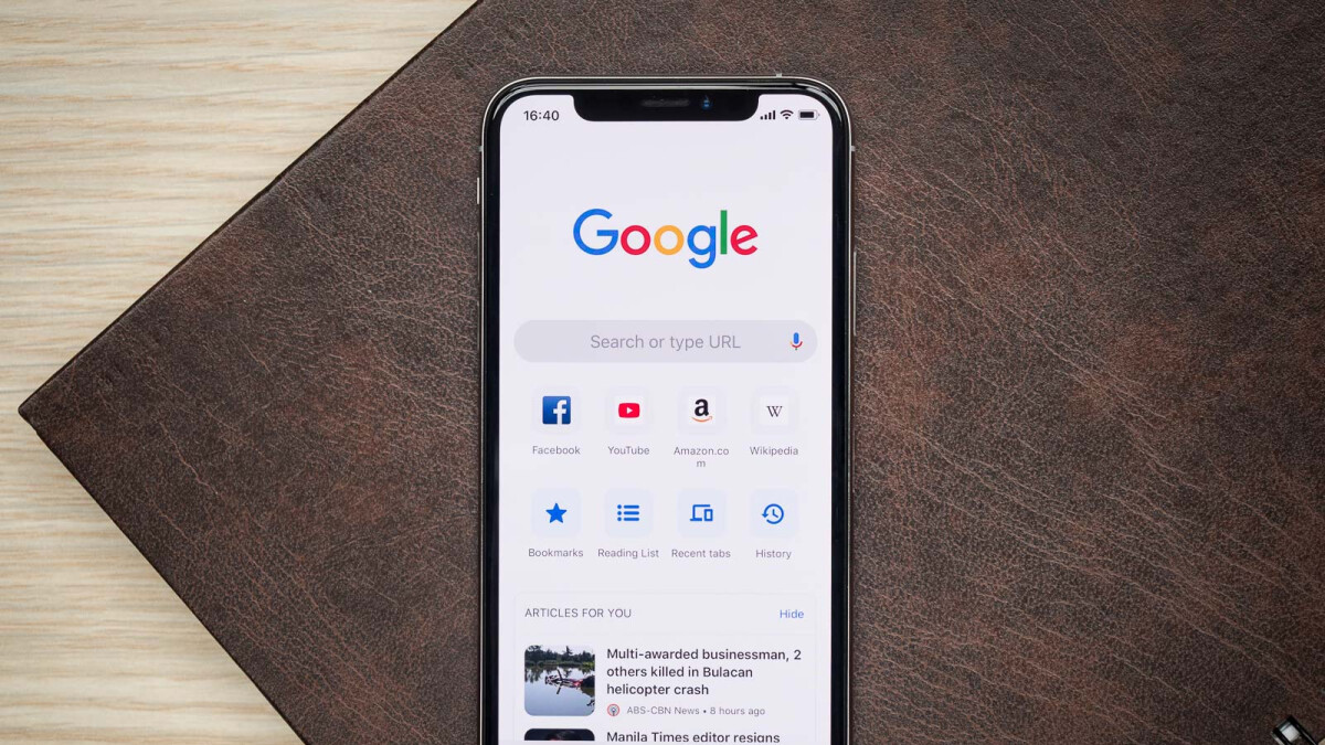 Chrome for iOS goes dark after the latest update