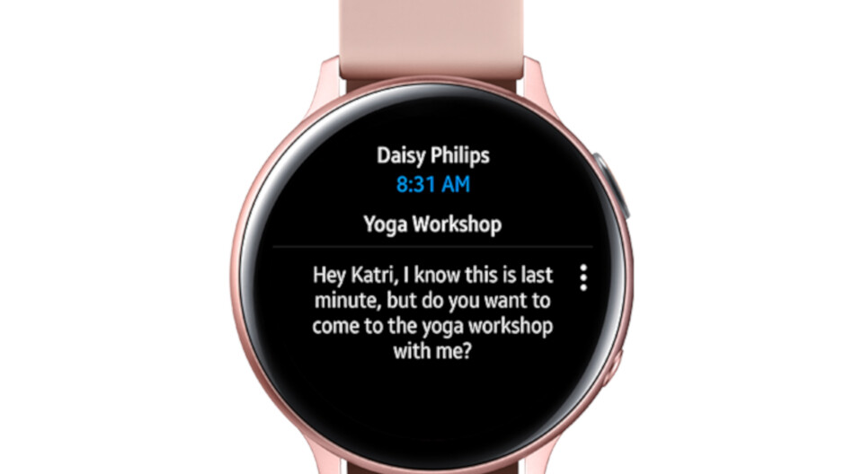 Samsung Galaxy smartwatches are getting a dedicated Microsoft Outlook app
