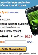 Amazon drops the price of AT&T's Palm Pre Plus to $0.01 - just a cent more than Wirefly