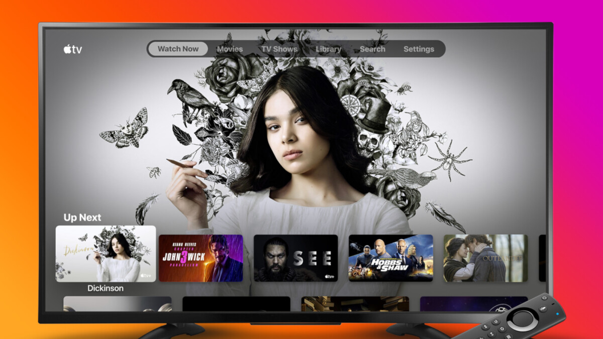 Apple TV app goes live on Amazon's Fire TV Stick devices