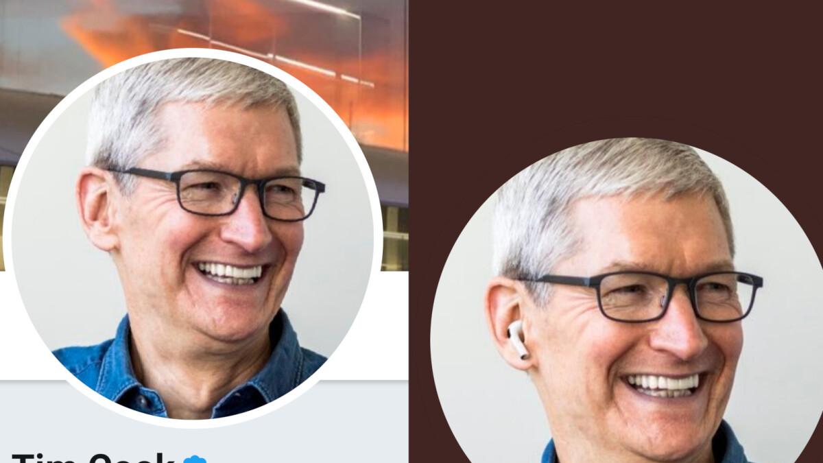 Did Apple Photoshop The Airpods Pro For Tim Cook S Twitter Profile