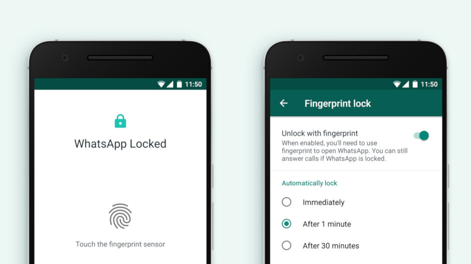 WhatsApp introduces another layer of security for Android devices