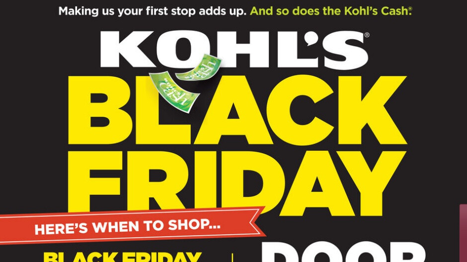 Kohl's Teases Black Friday Deals on PS4, Fitbit, Amazon Echo, More