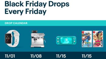 Killer Black Friday deals will drop on eBay every week through December
