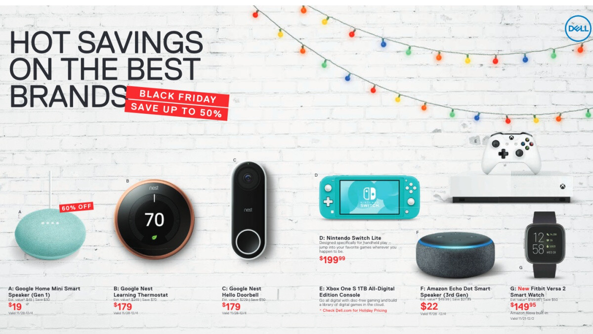 Dell previews dozens of cool Black Friday 2019 deals on laptops, smart speakers, and more