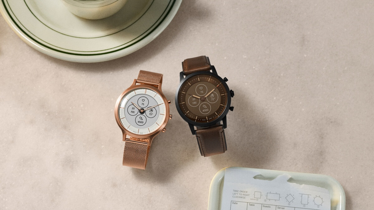 Fossil unveils stylish new hybrid smartwatches with incredible battery life