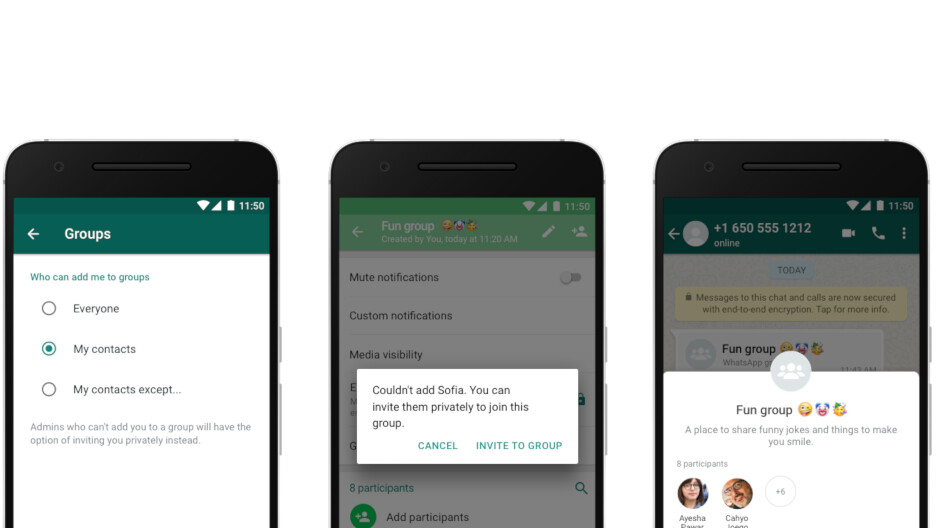 WhatsApp makes changes to privacy controls on Android devices