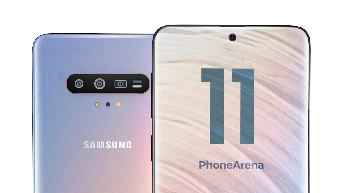 A Galaxy S11 with a centered punch hole now looks even more likely