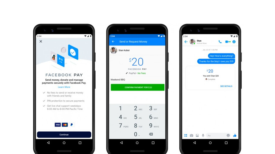 Facebook Pay launches in the United States