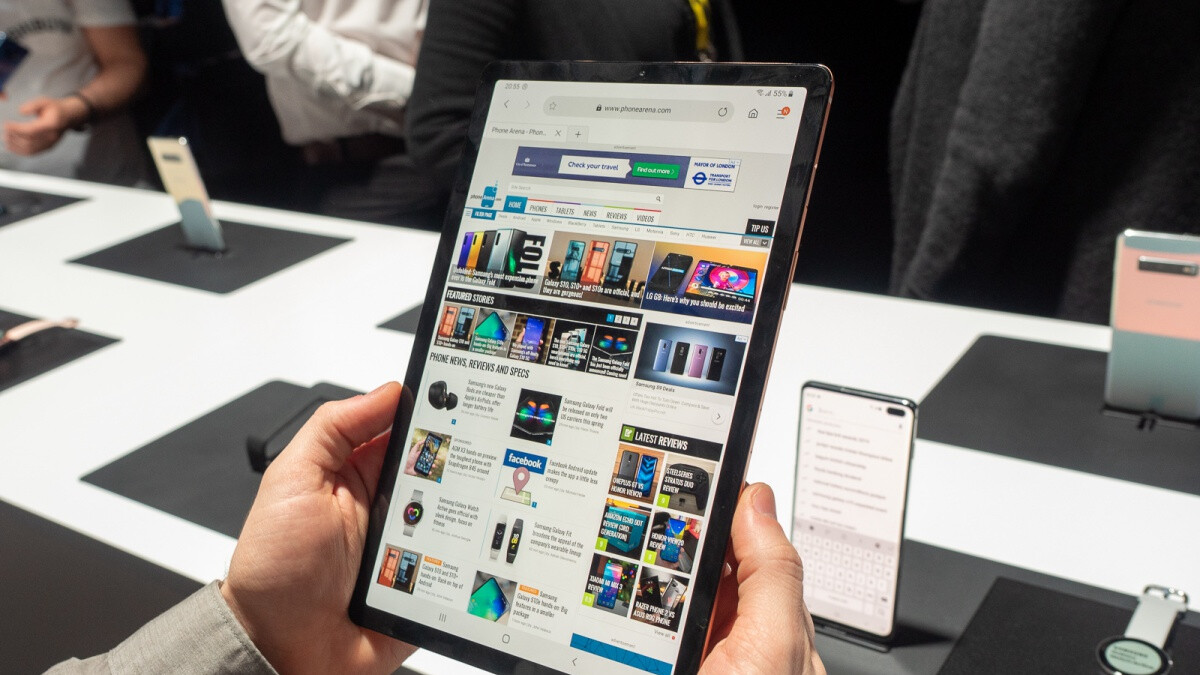 Samsung's razor-thin and reasonably powerful Galaxy Tab S5e is on sale at a cool $100 discount