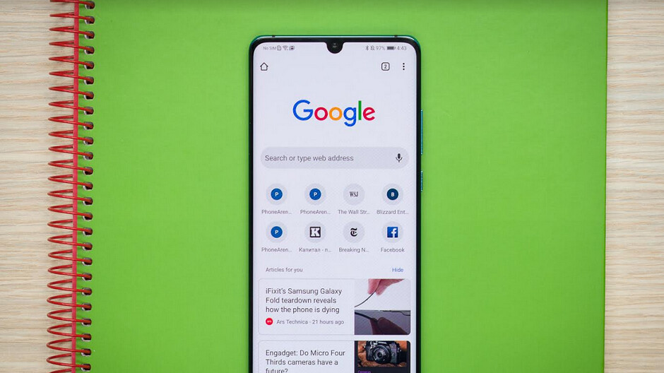 Opening and closing tabs on the Android version of Chrome is now a little easier