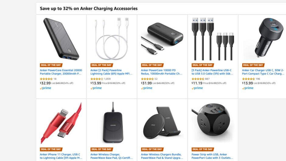 Amazon is selling some of Anker's best chargers and cables at huge discounts ahead of Black Friday