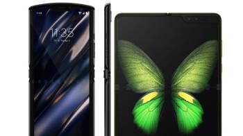 Motorola Razr vs Galaxy Fold, which bendable phone would you pick?