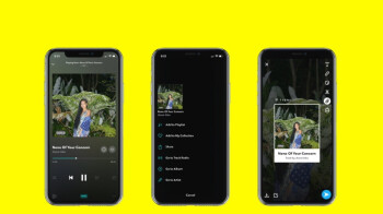 Tidal update adds new option to share music directly to Snapchat