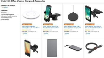 Amazon has several dozen popular smartphone accessories from three top brands on sale today