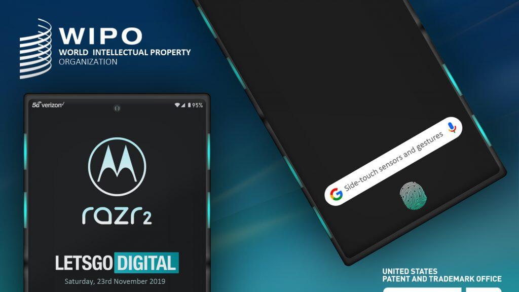 Motorola razr 2 could feature side sensors and an in-display fingerprint reader