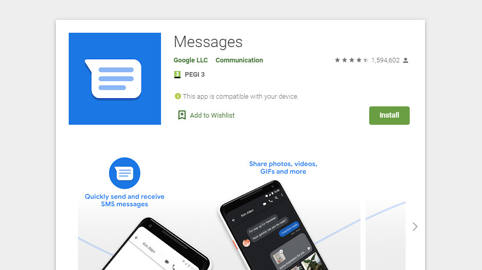 Google Messages update adds long-awaited Verified SMS feature