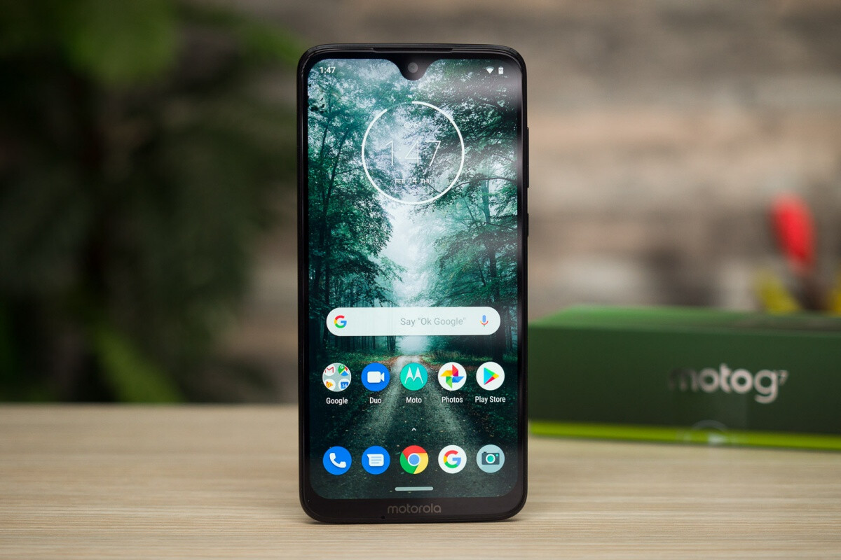 Unlocked Moto G7 Goes Down To A Little Over 100 In Grade A Ebay Deal Phonearena