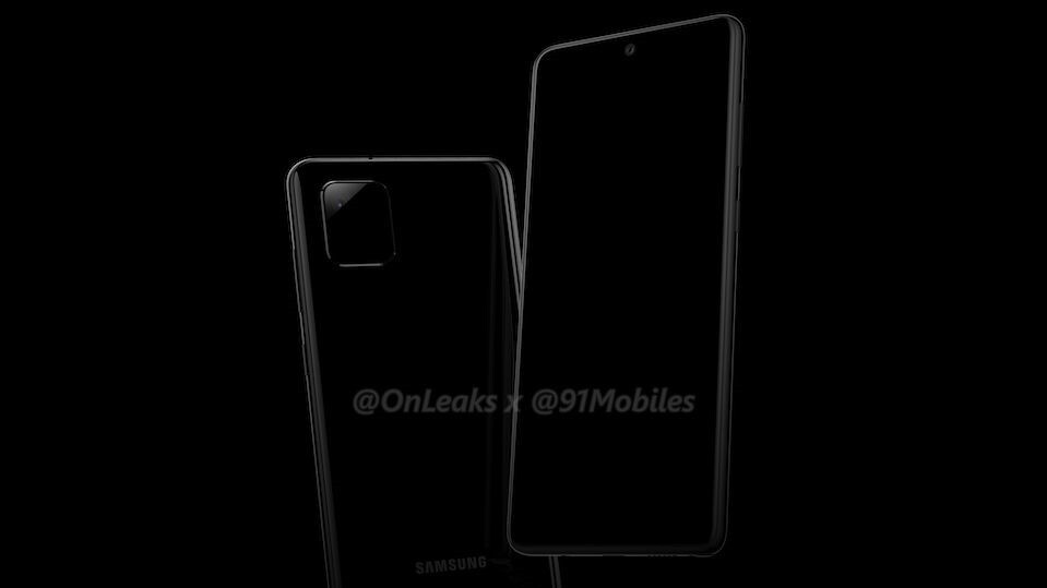 Early Galaxy Note 10 Lite renders corroborate square camera, S Pen support