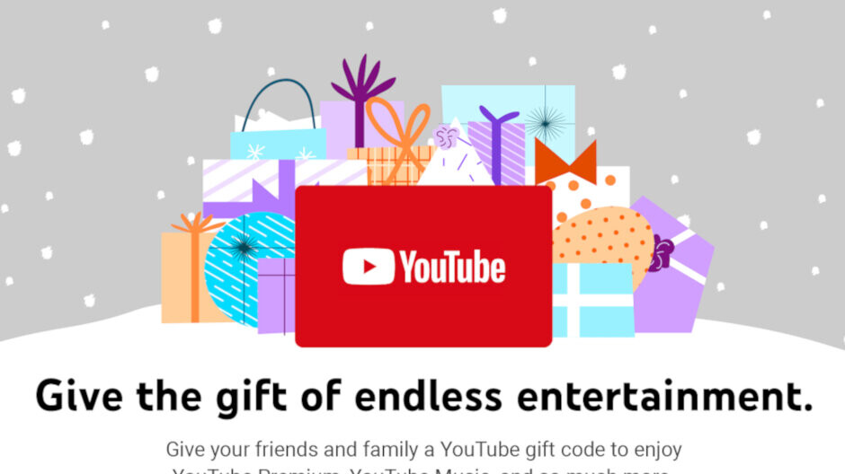 YouTube brings gift codes to the United States via Amazon