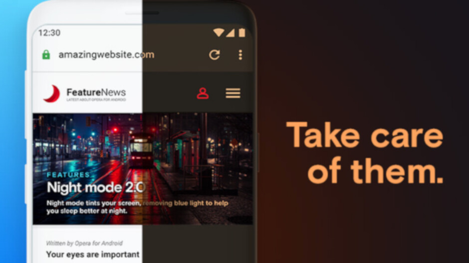 Opera for Android update adds revamped night mode, lots of improvements