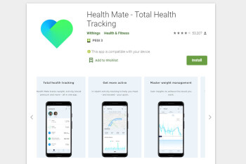 Withings app updated with dark theme, Google Fit and Strava integration