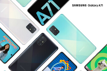 Samsung's new Galaxy A71 and A51 are official with '3D Glasstic' design, quad cameras