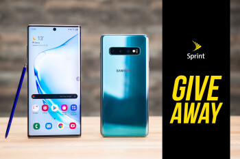 Giveaway! Start the New Year with a new Galaxy S10 or Galaxy Note 10 from Sprint