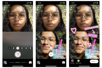 Instagram's new Layout feature lets you upload multiple photos in a Story