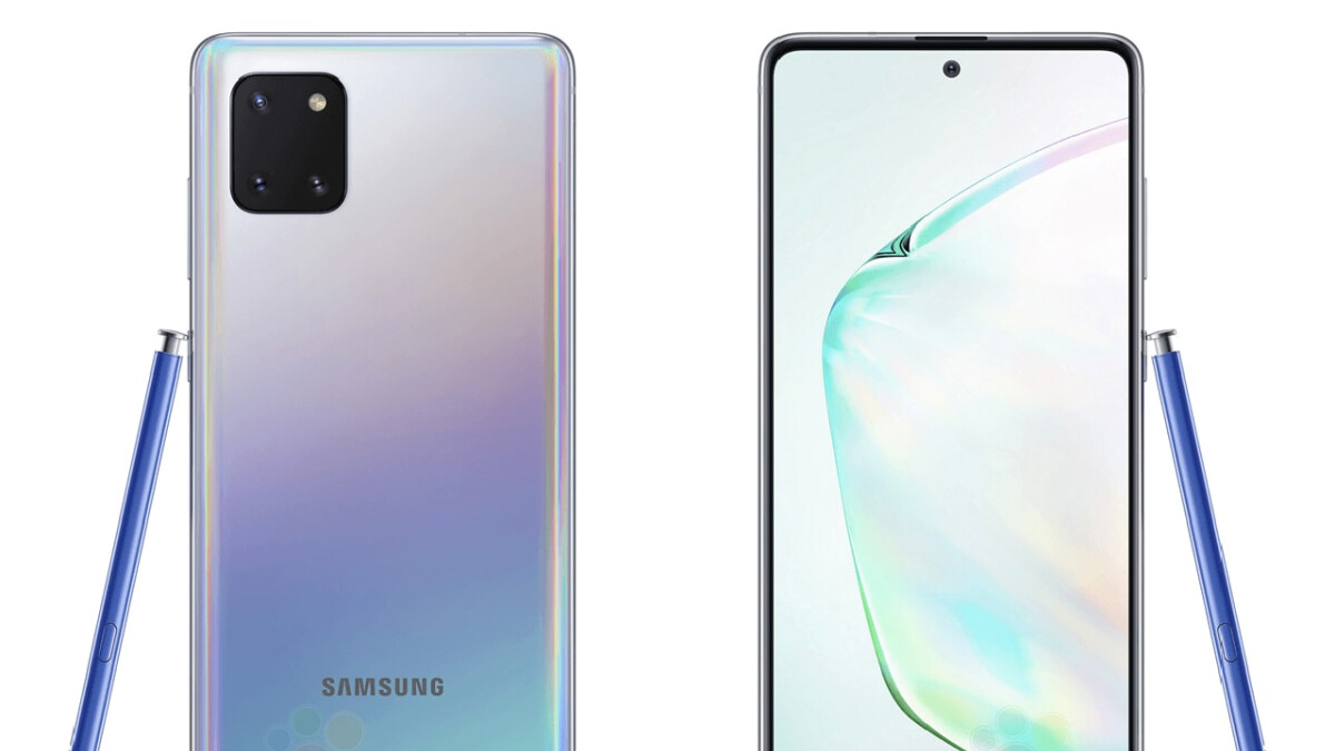 Here's how much the Samsung Galaxy Note 10 Lite will cost