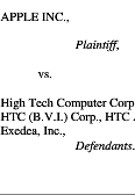 Apple files suit against HTC again, this time over recently added Sense UI features