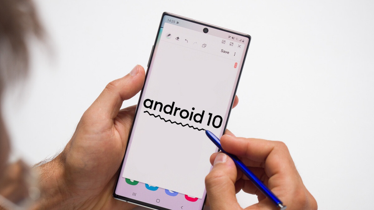 Two of the big four US carriers send Android 10 updates to the Galaxy Note 10