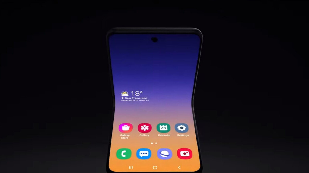 Samsung will employ real glass on the Galaxy Fold 2 display
