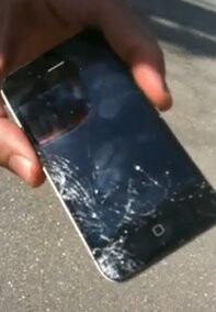 Apple iPhone 4: be careful not to drop it