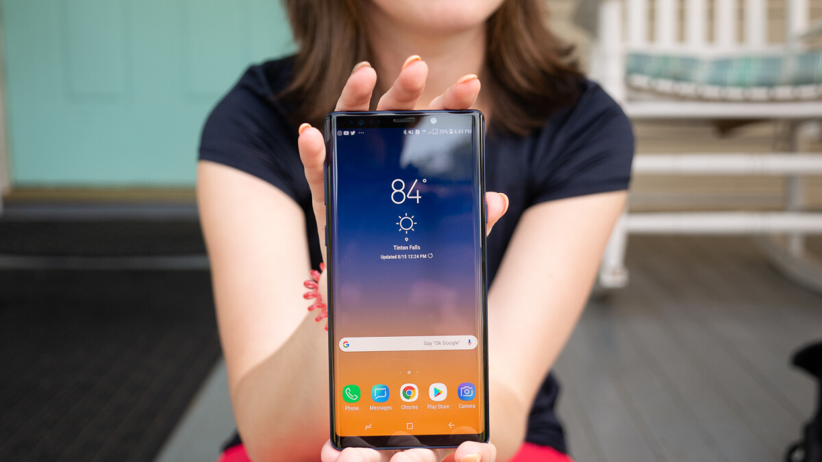 Samsung Galaxy Note 9 starts receiving Android 10 update