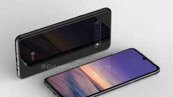 Alleged LG G9 ThinQ renders show quad-camera setup, notched display