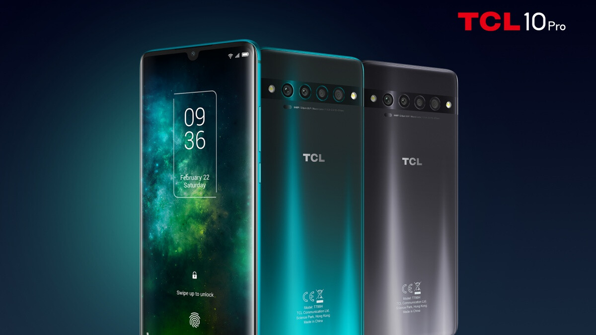 TCL 10 lineup includes two phones for the US and the brand's first 5G model