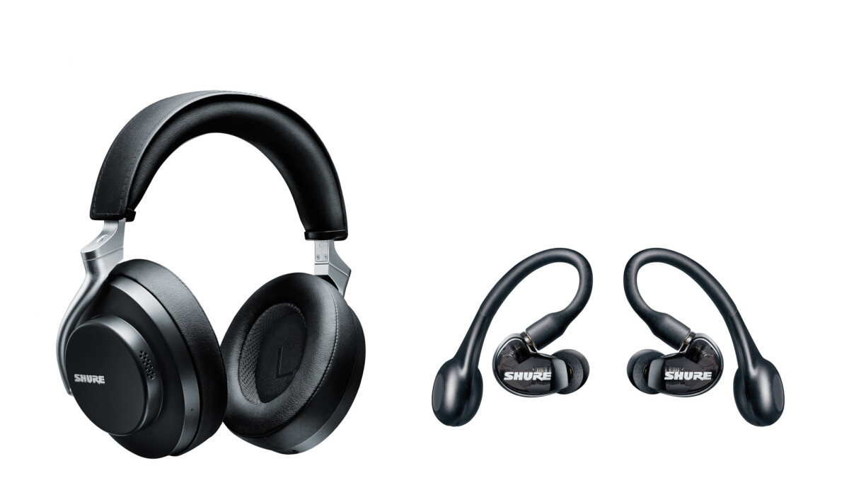 Shure announces true-wireless headphones and earbuds, adding more competition to the AirPods Pro