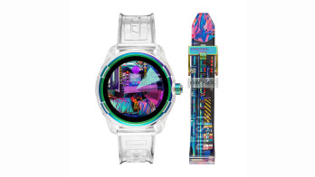 Diesel debuts transparent Fadelite smartwatch